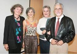 Los autores del libro: Ute Teske, Tatiana Gutiérrez Giraldo, María Teresa Jaramillo Jaramillo y Jorge Eduardo Botero Echeverri.