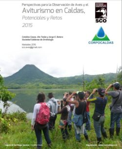 Informe SCO CORPOCALDAS Aviturismo Caldas 2015